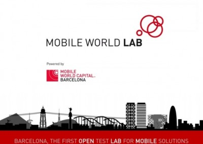 Model definition and service catalogue of the Mobile World Lab